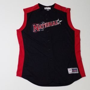 Majestic Nationals all star game baseball jersey